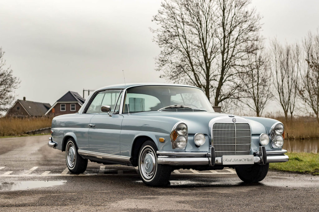 Real Art On Wheels | 1968 Mercedes-Benz 280 SE Coupe