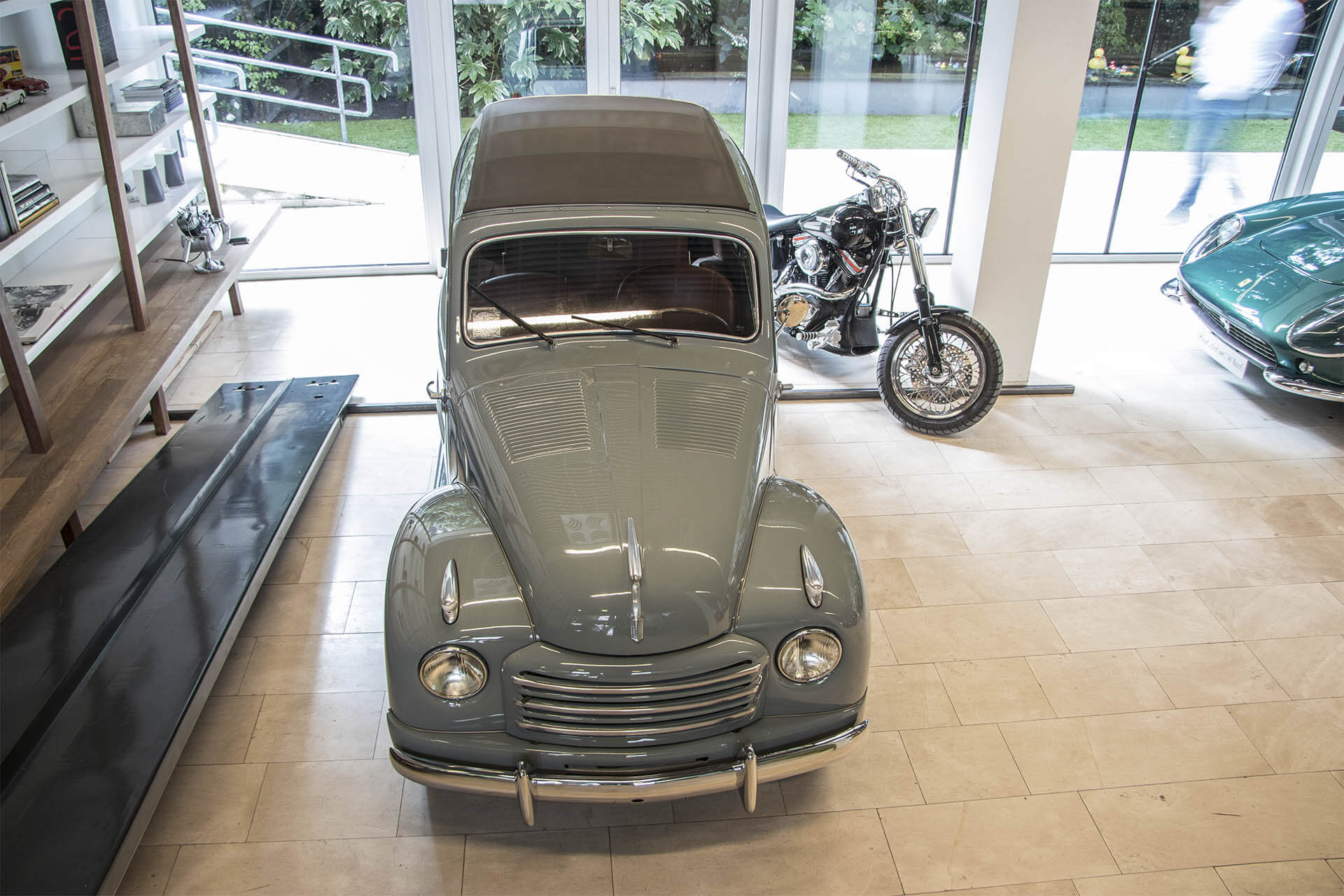 Real Art On Wheels | 1952 Fiat 500 Topolino Belvedere