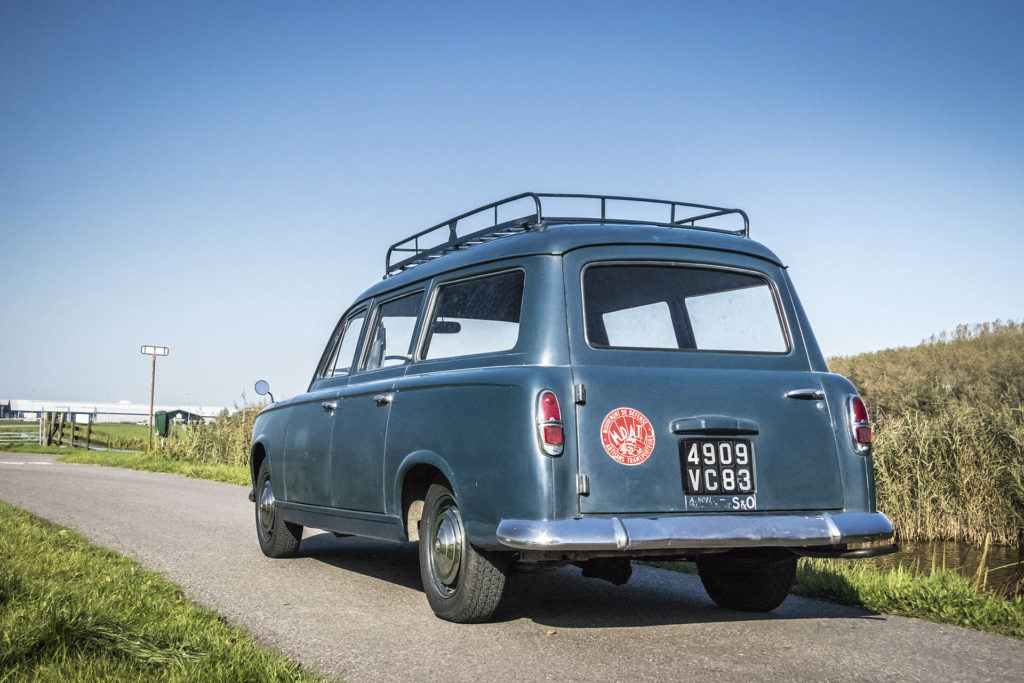 Real Art On Wheels | 1958 Peugeot 403 Commerciale