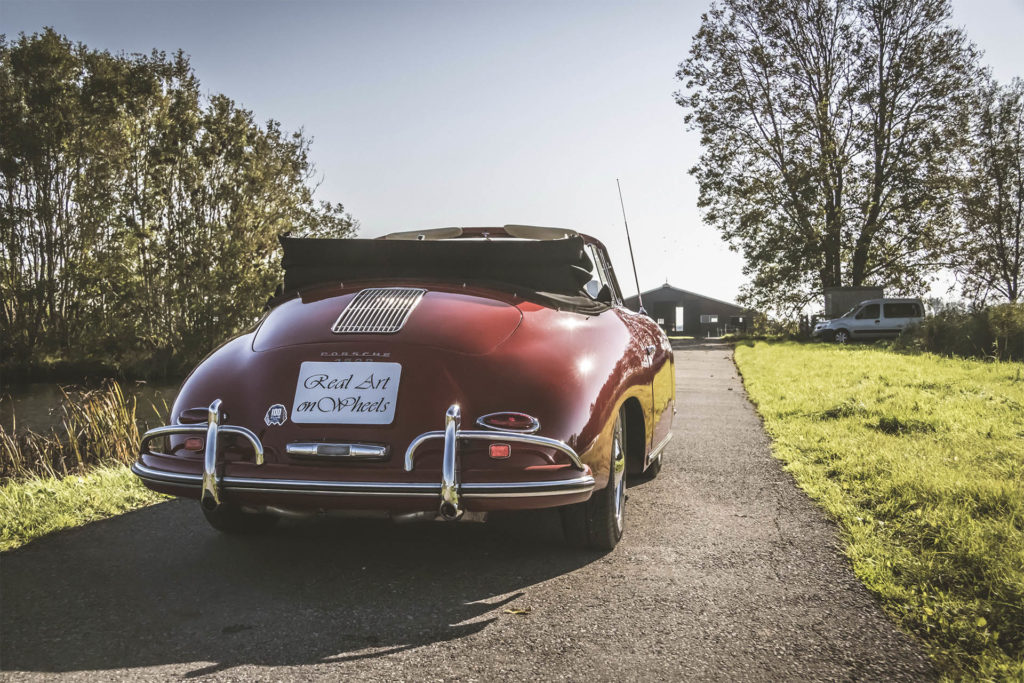 Real Art On Wheels | 1959 Porsche 356A T2 Cabriolet