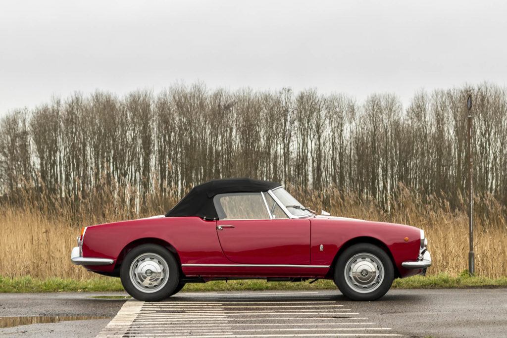 Real Art On Wheels | 1962 Alfa Romeo Giulietta Spider