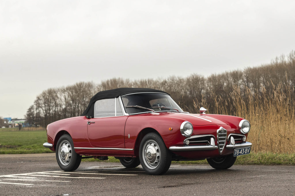 Real Art On Wheels | 1962 Alfa Romeo Giulietta Spider