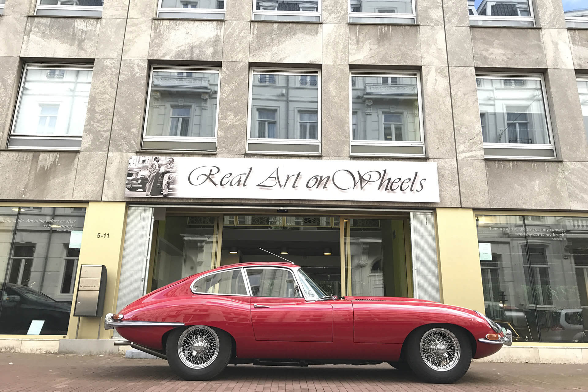 Real Art On Wheels | 1962 Jaguar E-Type FHC 3.8 Series I