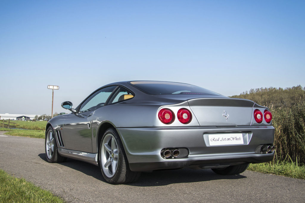 Real Art On Wheels | The Collection - Ferrari 550 Maranello