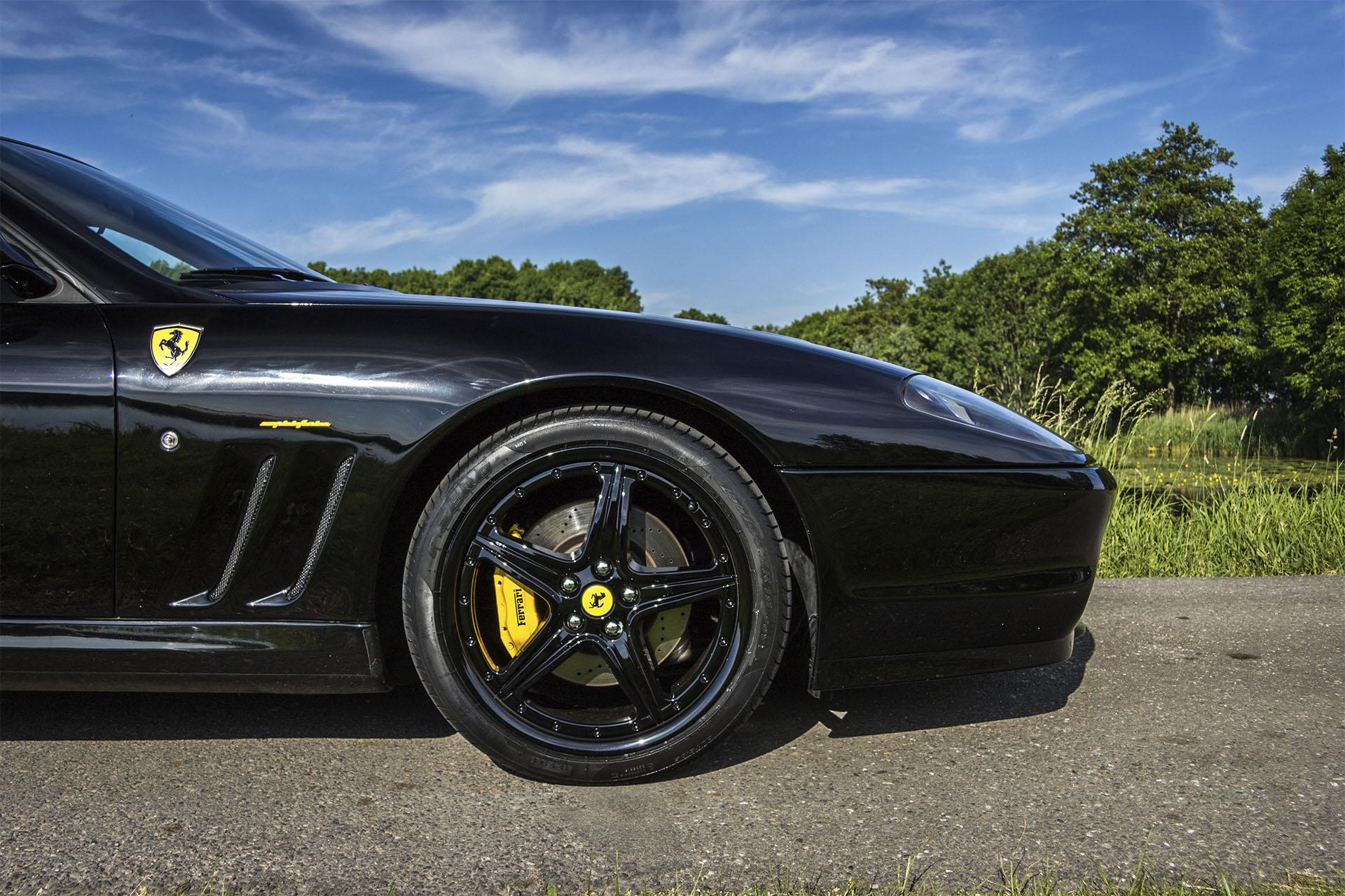Real Art On Wheels | 2002 Ferrari 575M Maranello