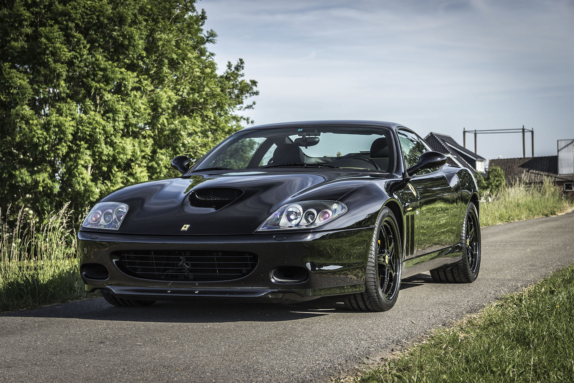Real Art On Wheels | 2002 Ferrari 575M Maranello
