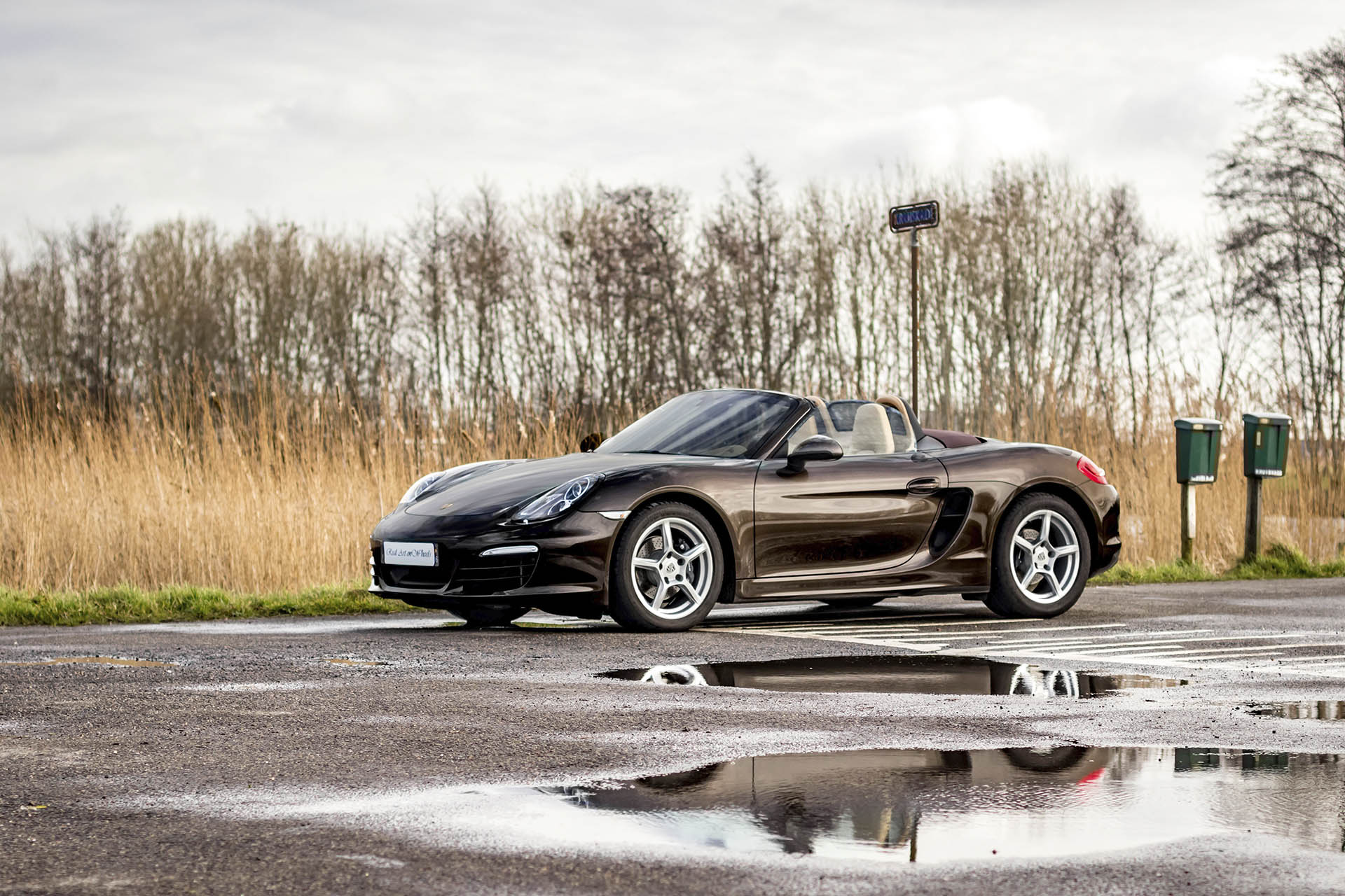 Real Art On Wheels   The Collection - Porsche Boxster