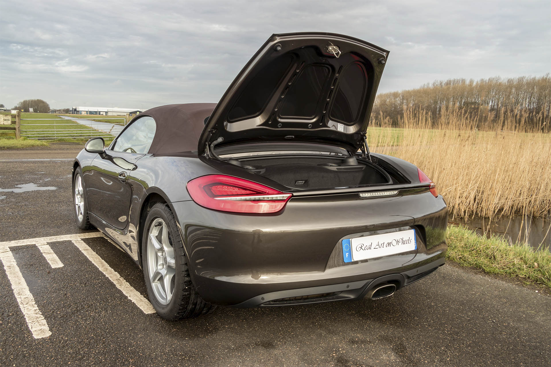 Real Art On Wheels | The Collection - Porsche Boxster