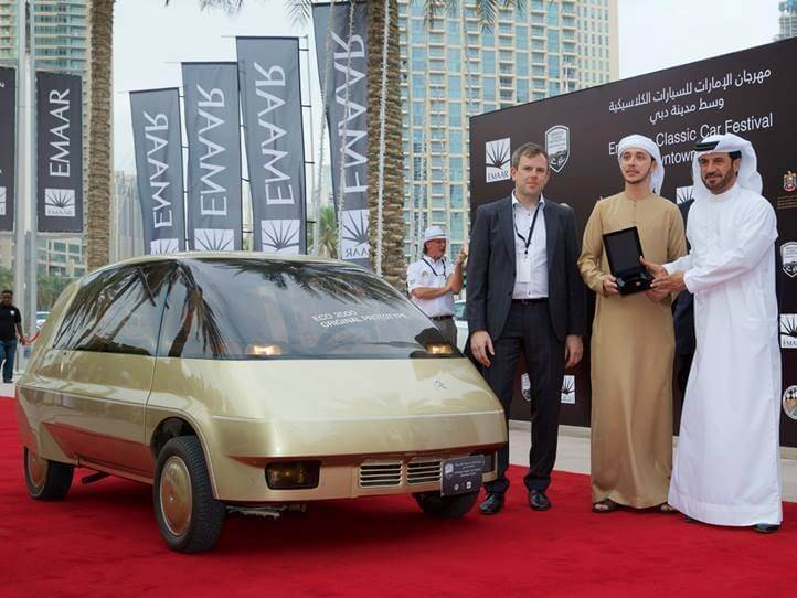 Real Art On Wheels | Citroën ECO 2000 wins in Dubai