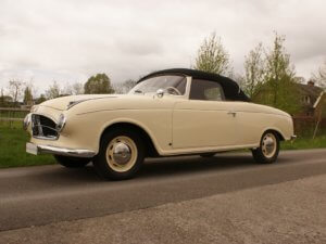 Real Art on Wheels | 1956 BMW 502 V8 Convertible