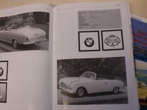 Real Art on Wheels   1956 BMW 502 V8 Convertible