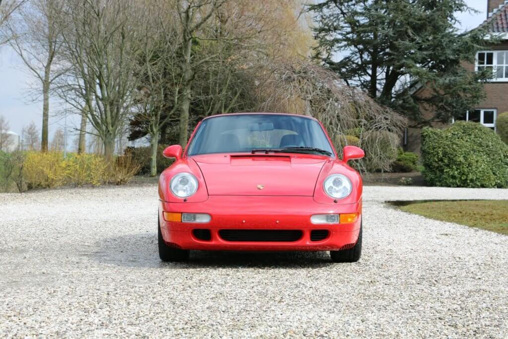 Real Art on Wheels | Porsche 993 Carrera 2S Cabriolet