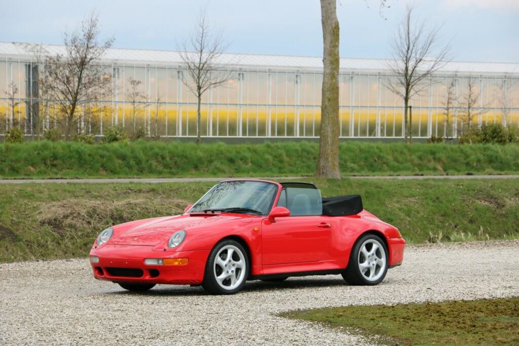 Real Art on Wheels | Porsche 993 Carrera 2S Cabriolet