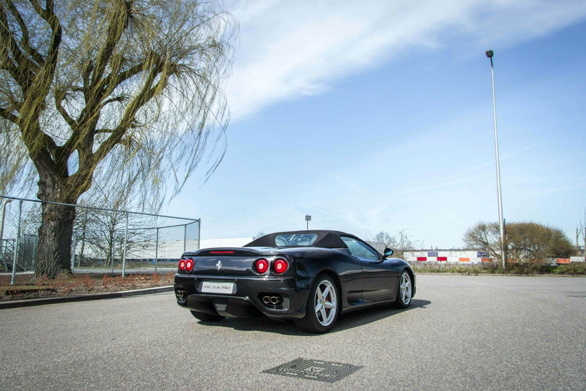 Real Art on Wheels | Ferrari 360 Spider