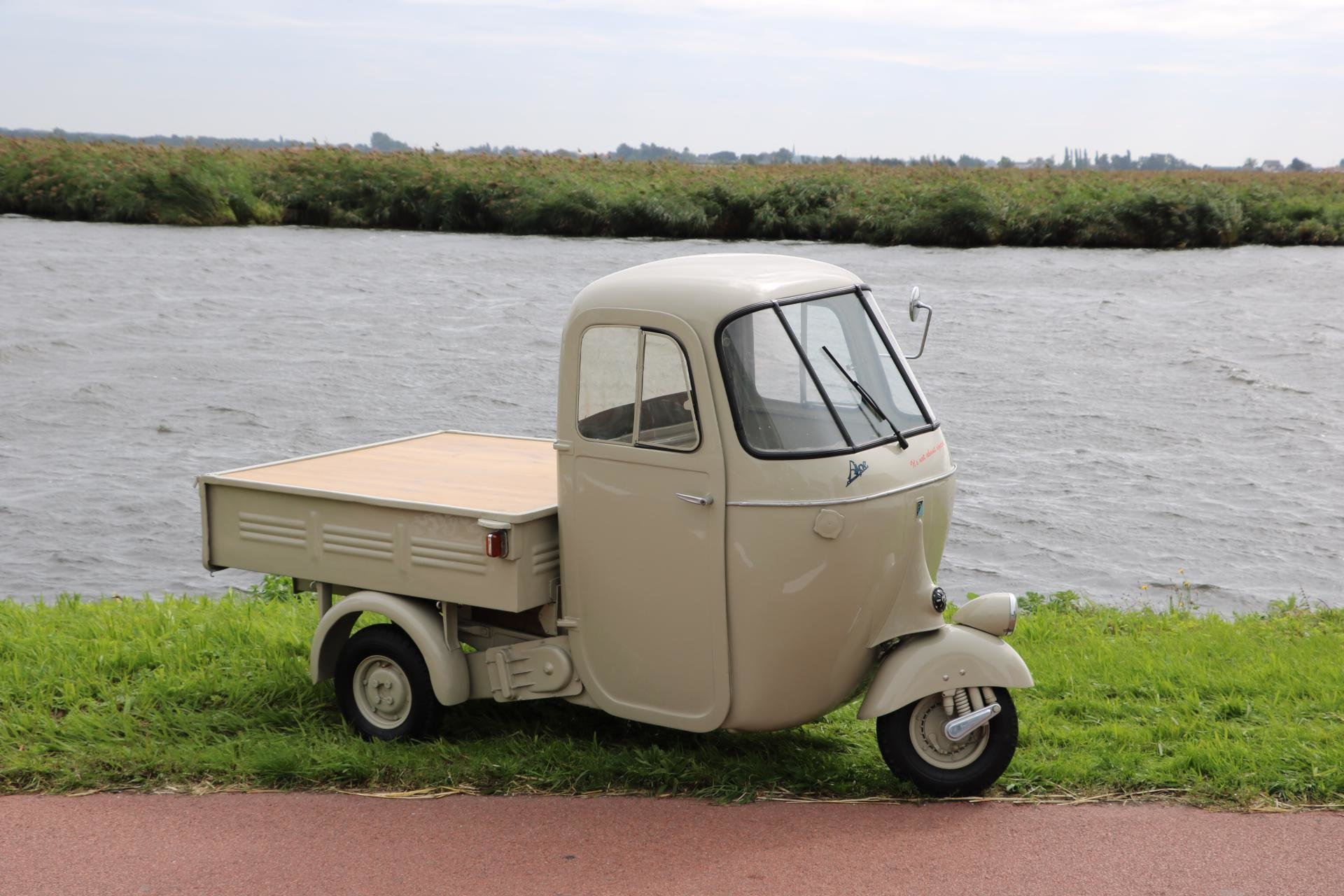 Real Art on Wheels | 1955 Piaggio Ape