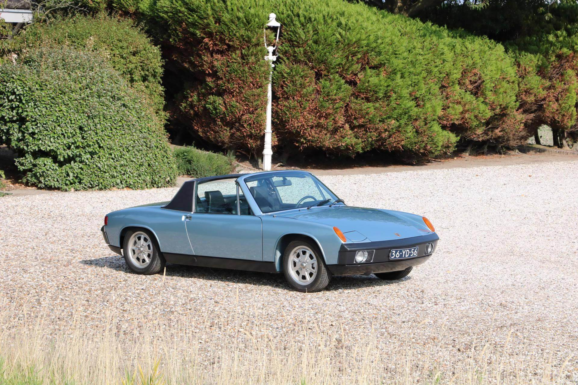 Real Art on Wheels | Porsche 914