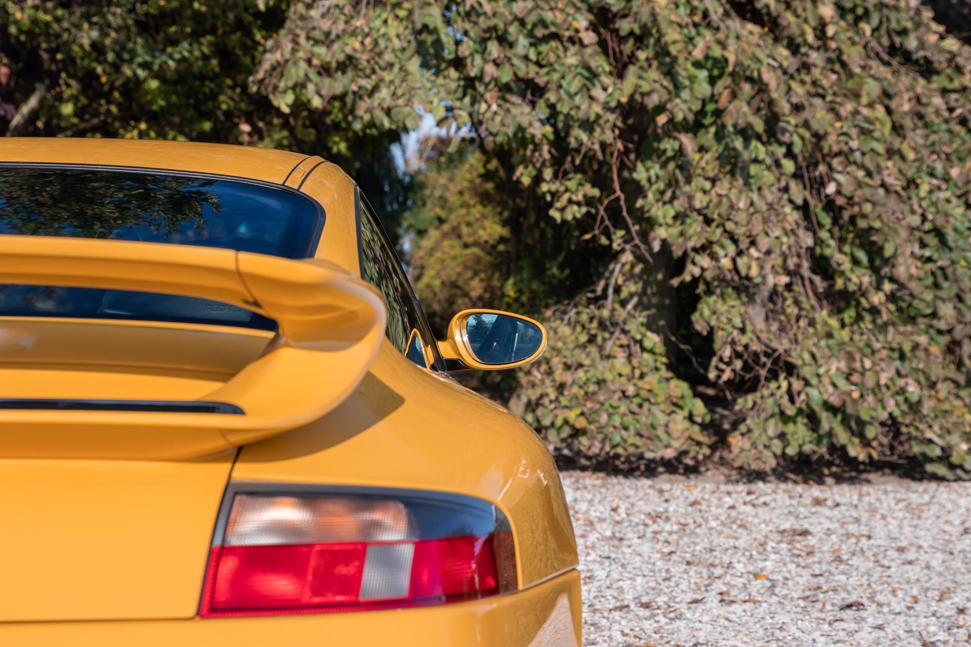 Real Art on Wheels   2001 Porsche 996 GT3 Mark I