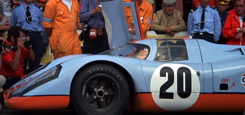 Porsche 917 from the movie Le Mans