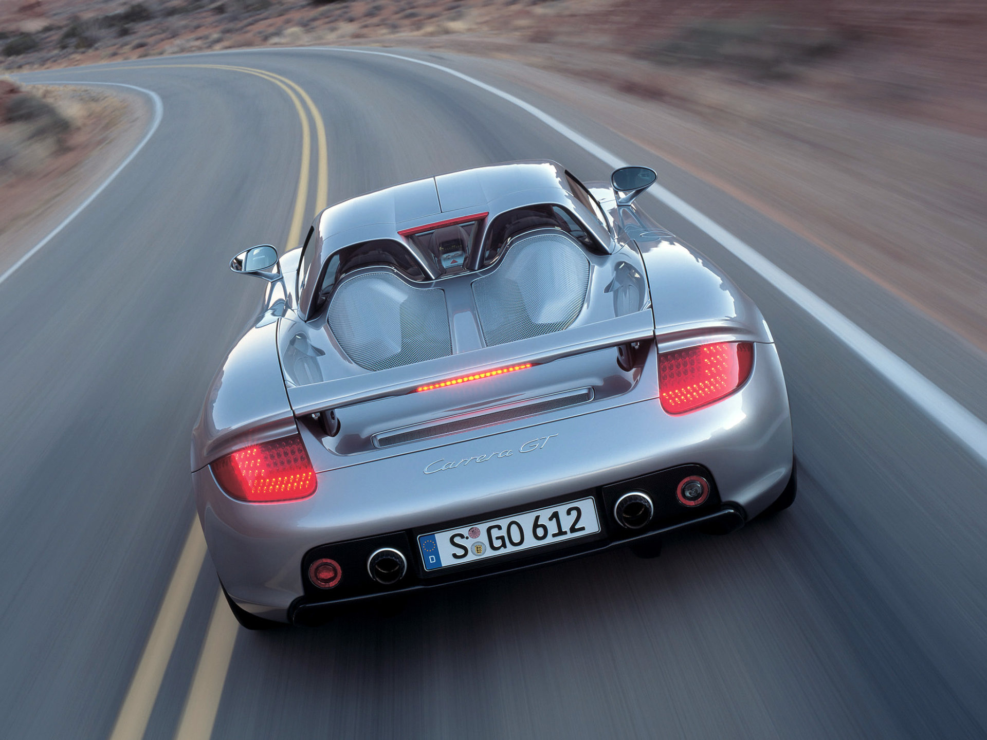 Real Art on Wheels | 2004 Porsche Carrera GT