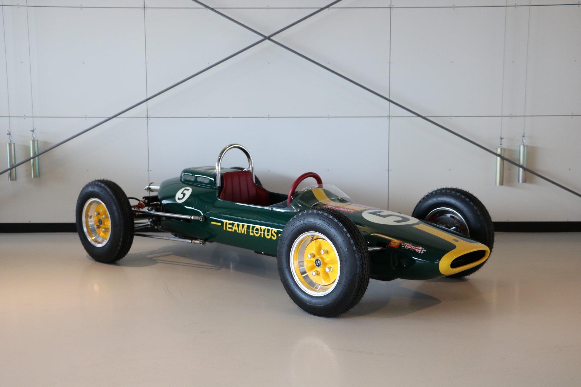 Real Art on Wheels | Jim Clark Lotus Formula 1