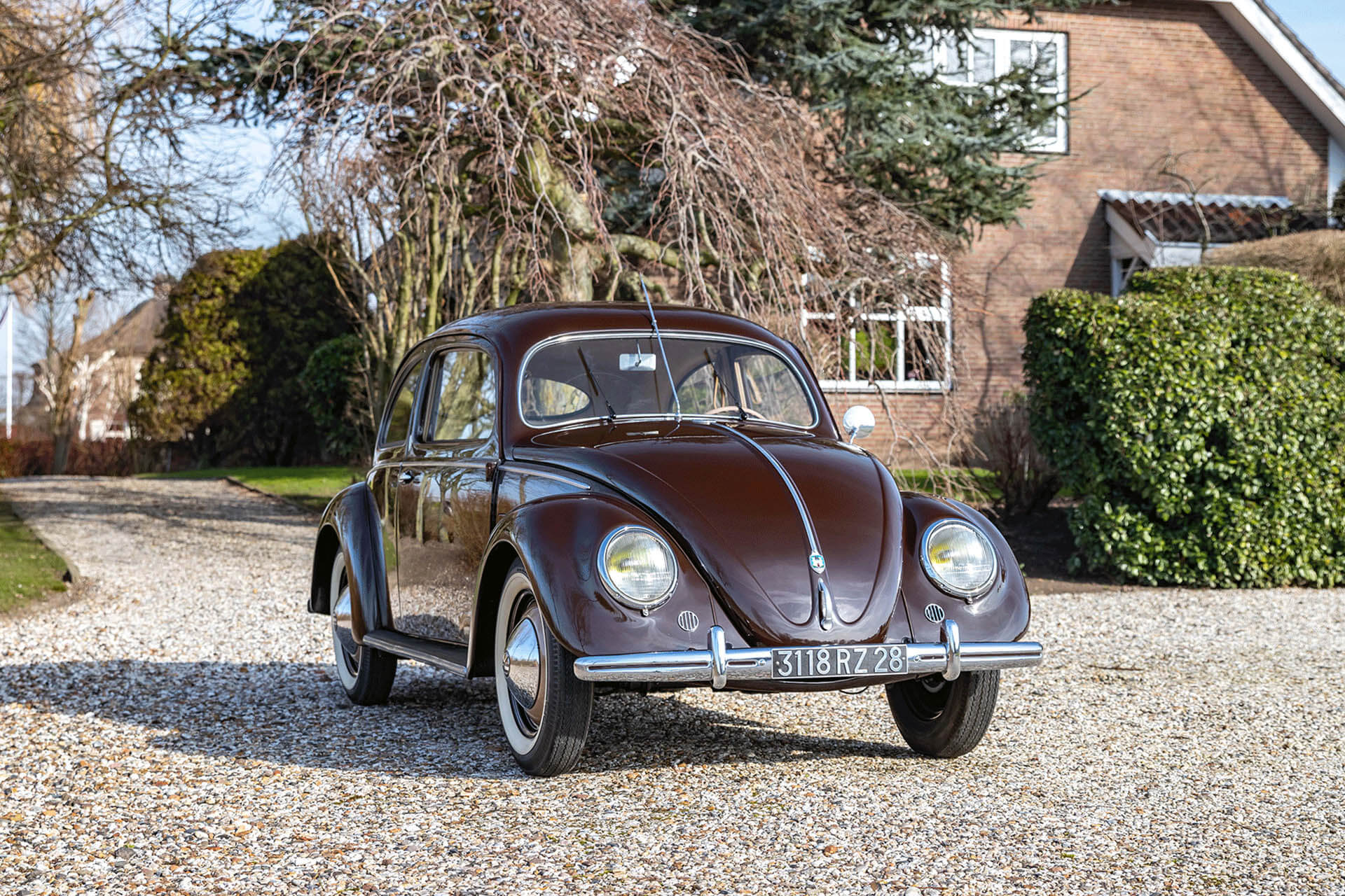 Real Art On Wheels | The Collection 1952 Volkswagen Beetle