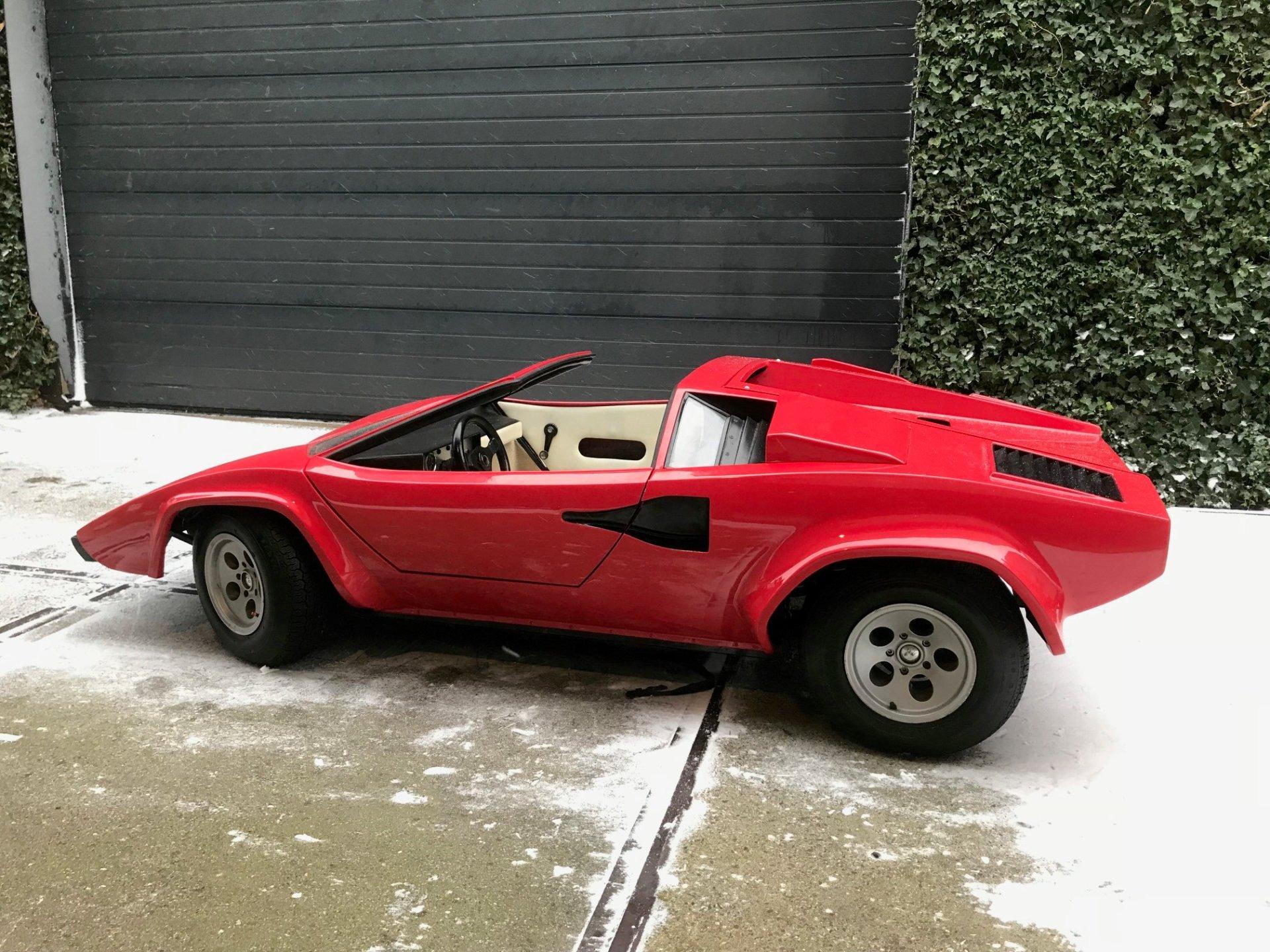 Real Art On Wheels Lamborghini Countach Junior Car