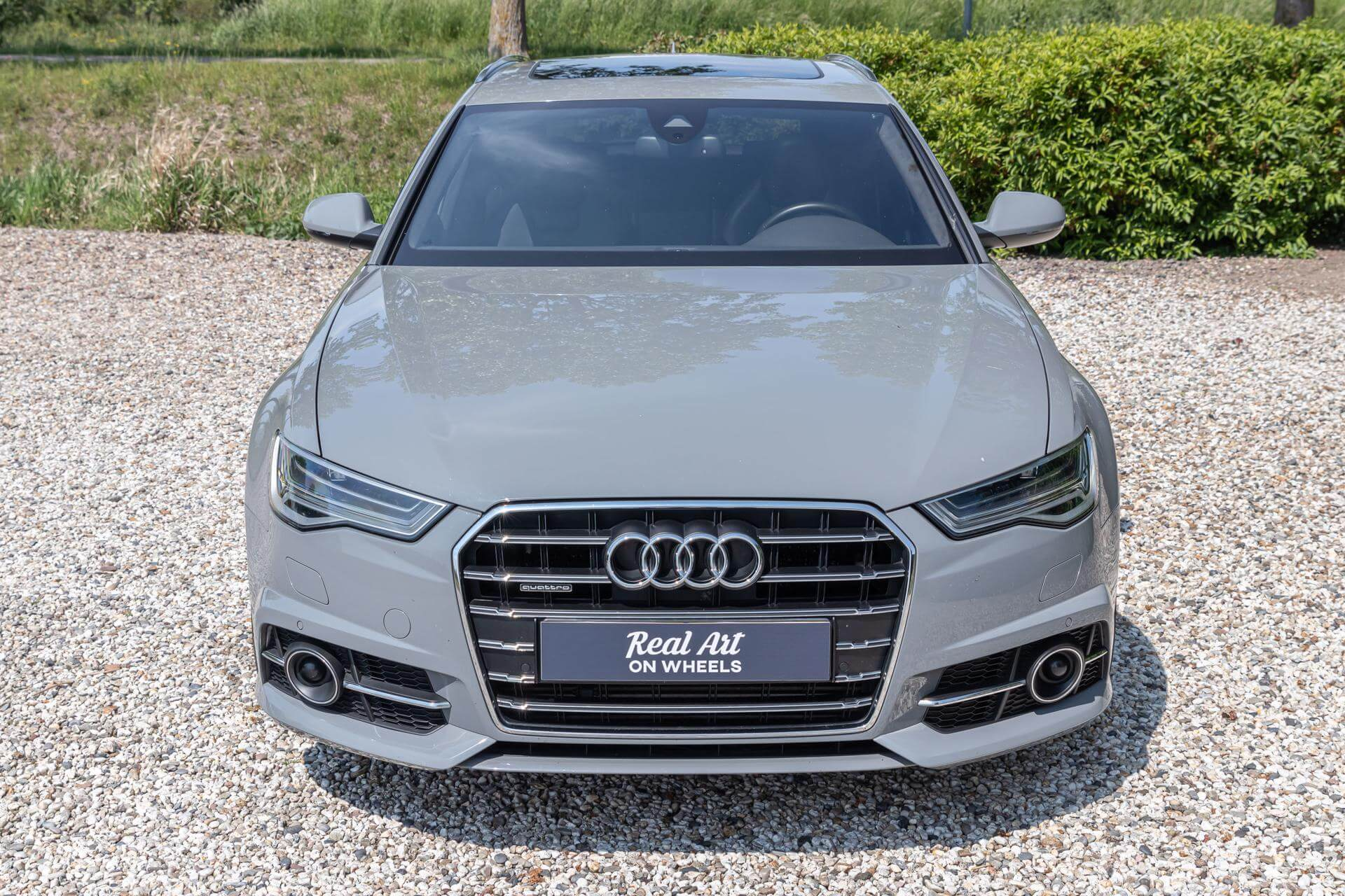 Real Art on Wheels | 2016 Audi A6 Avant