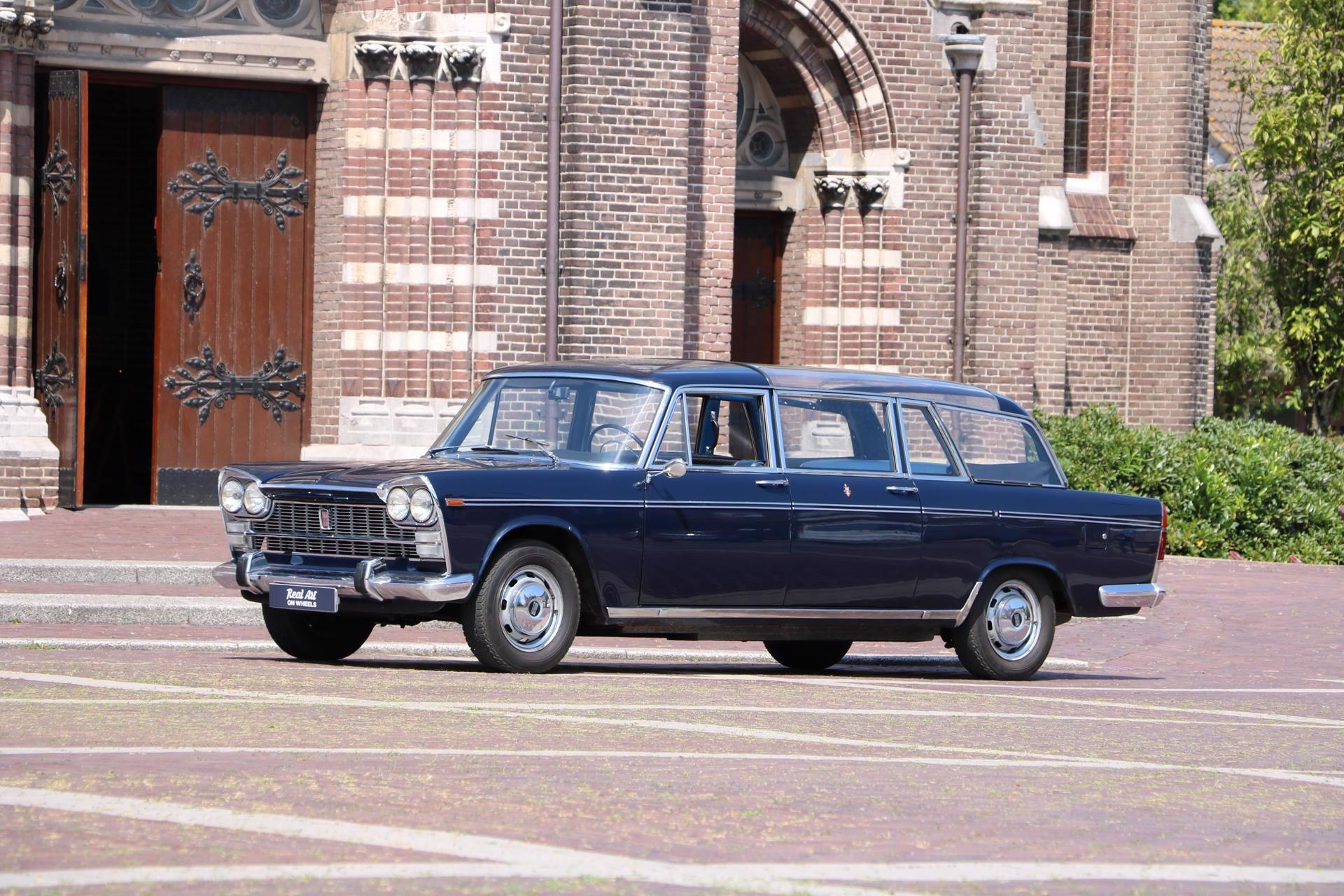 Real Art on Wheels | Fiat 2300 Presidenziale Landaulette