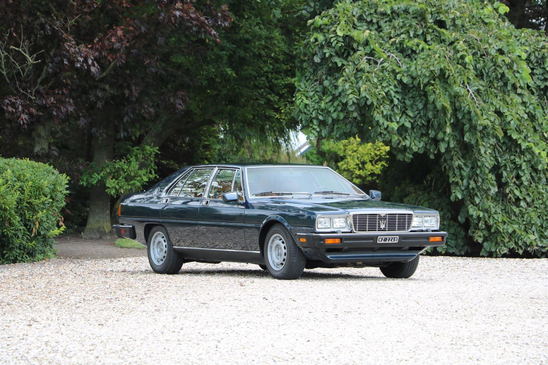 Real Art On Wheels | 1983 Maserati Quattroporte III 4900