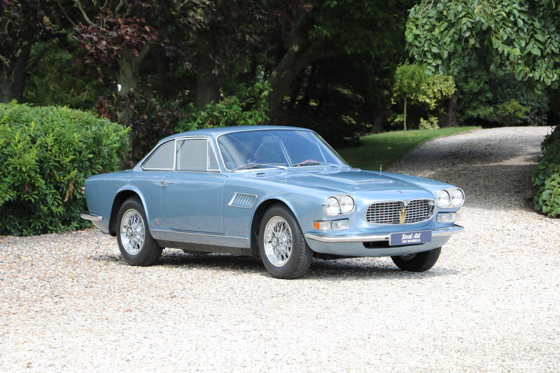Real Art On Wheels   1966 Maserati Sebring GTi 3700