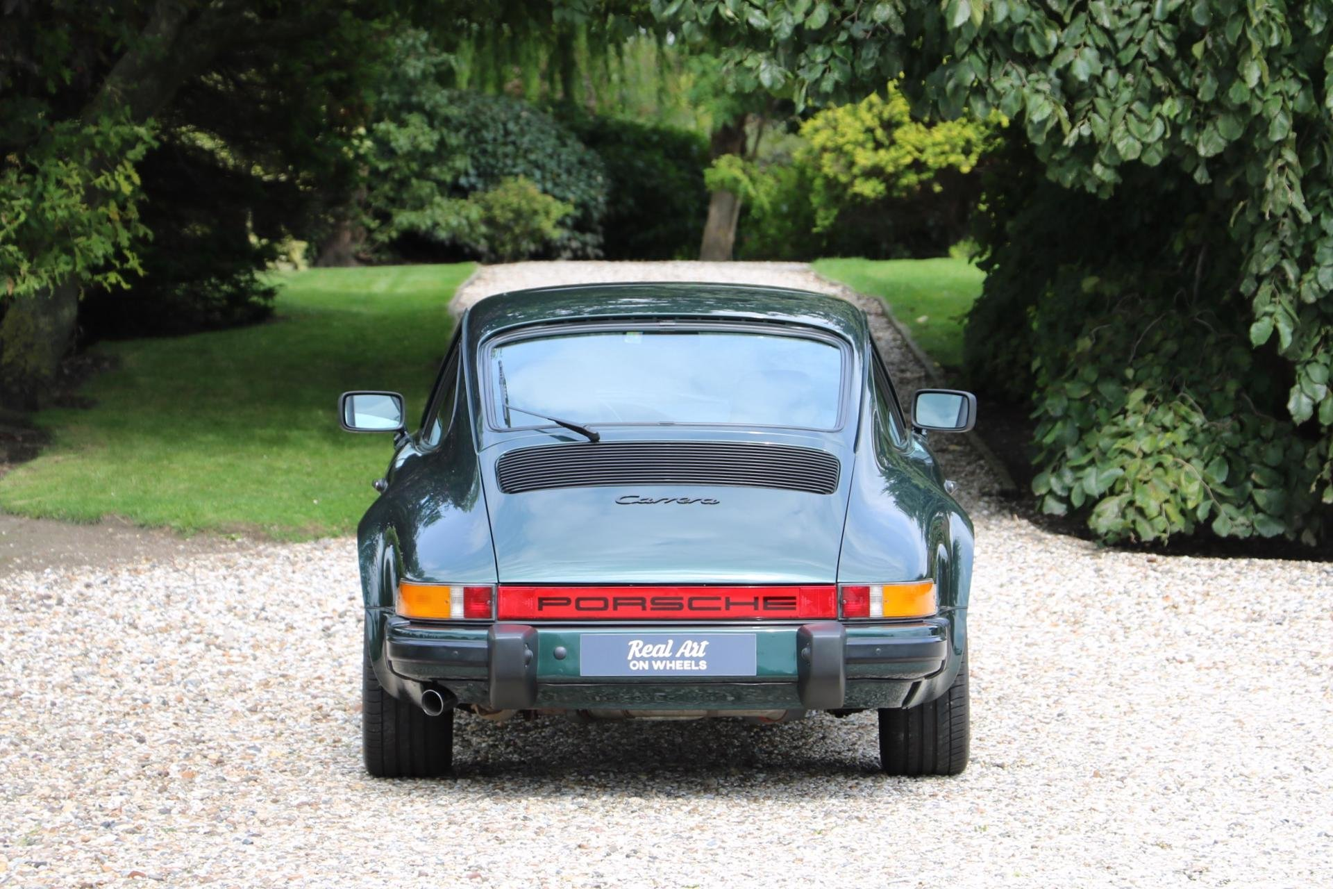 Real Art on Wheels | Porsche 911 Carrera 3.2