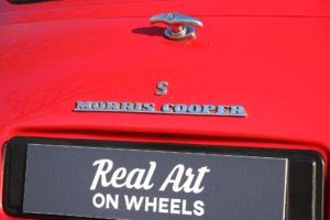 Real Art on Wheels | Mini Cooper S
