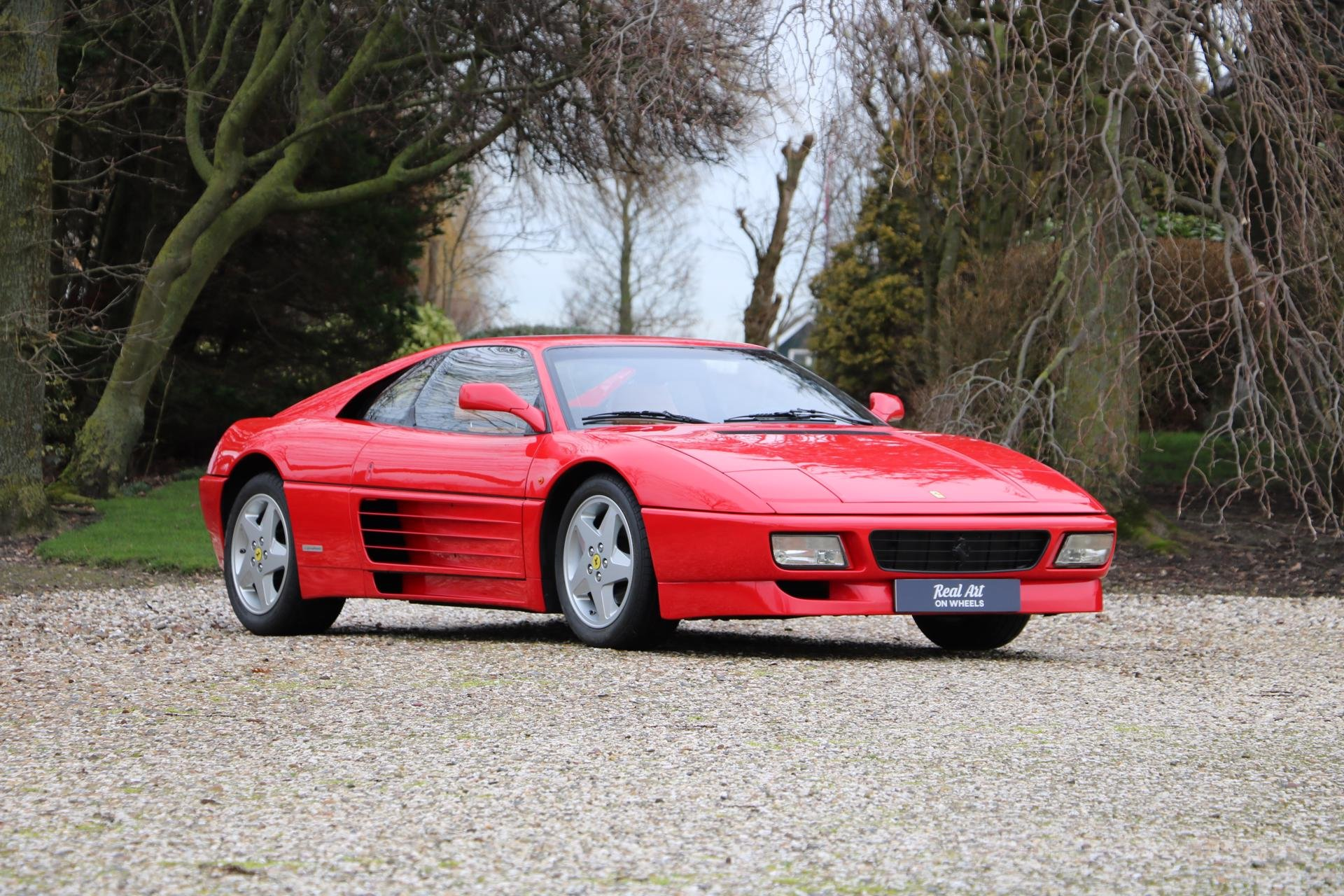 Real Art on Wheels | Ferrari 348 TB