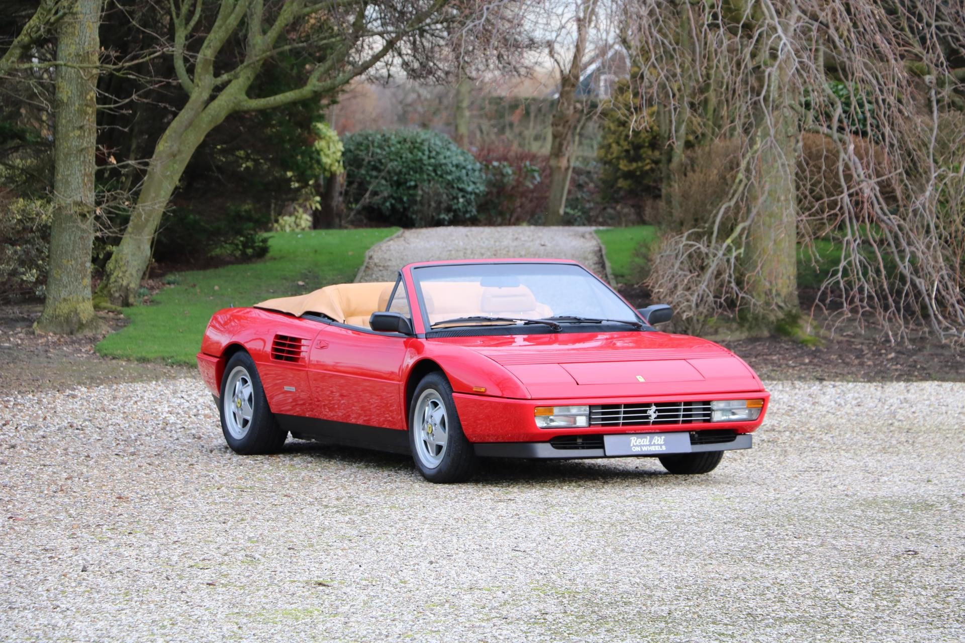 Real Art on Wheels | Ferrari Mondial T Convertible