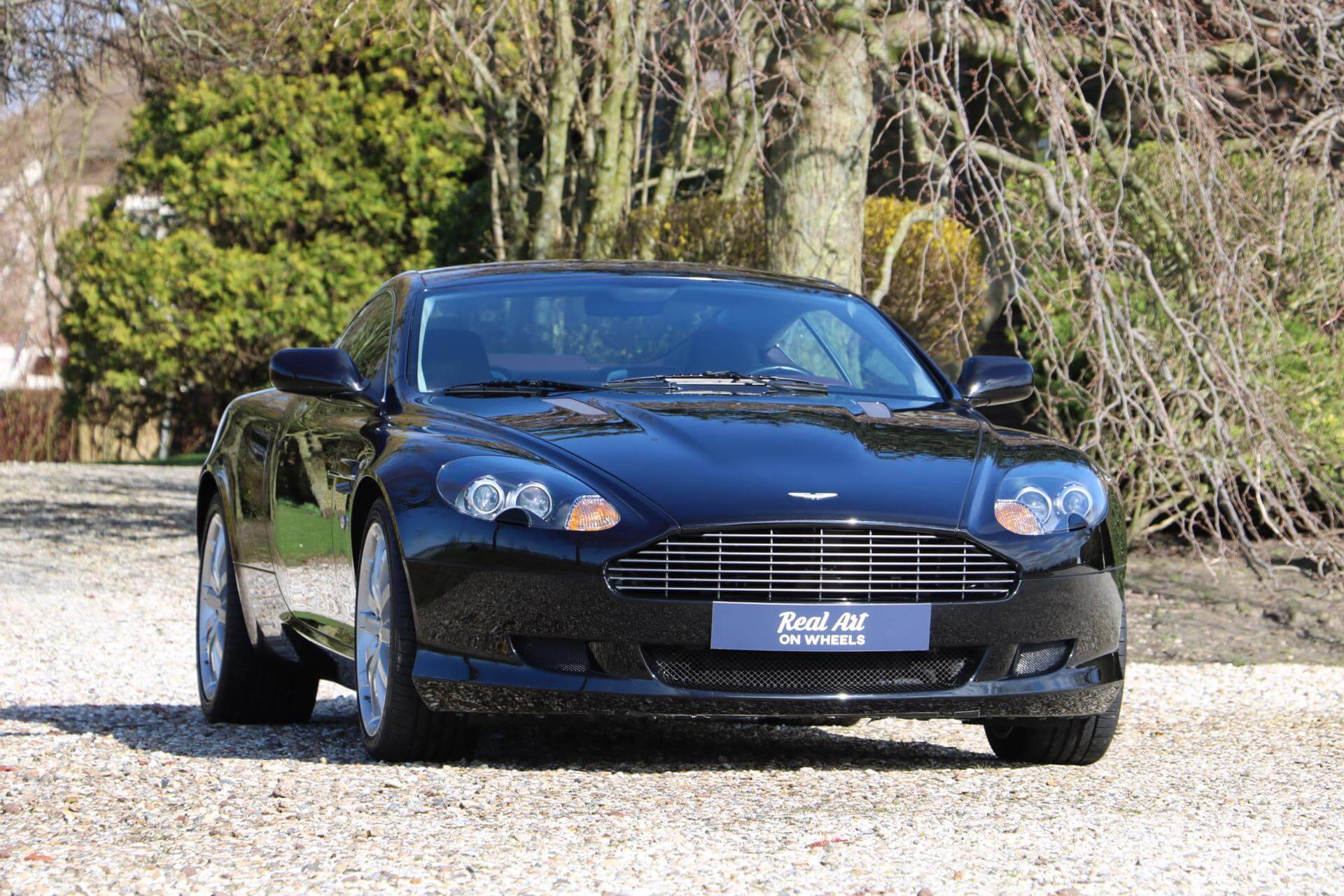 Real Art on Wheels | Aston Martin DB9