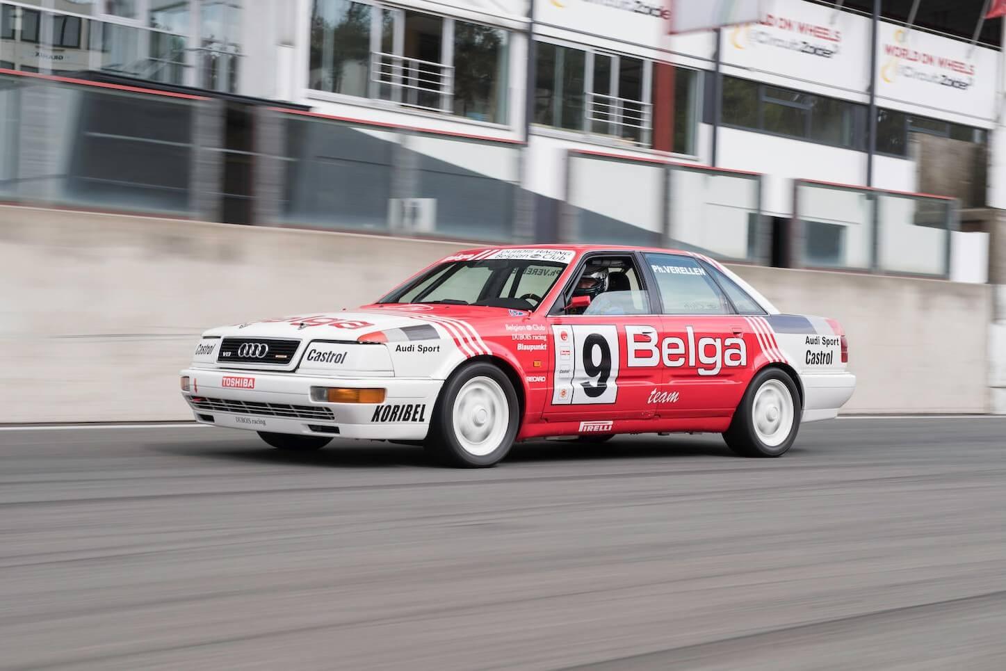 Real Art on Wheels | Audi V8 Quattro Belga Procar