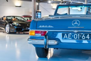 Real Art on Wheels | Mercedes-Benz 280SL