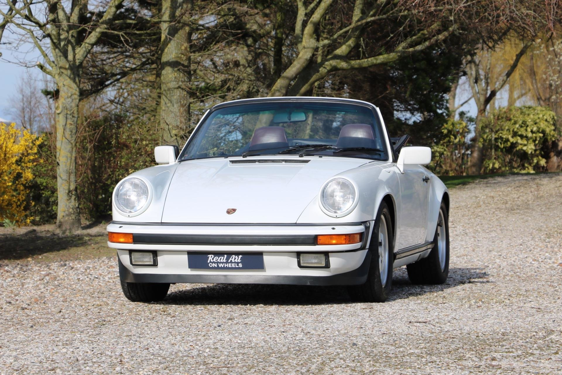 Real Art on Wheels | Porsche 911 Carrera 3.2 Cabriolet
