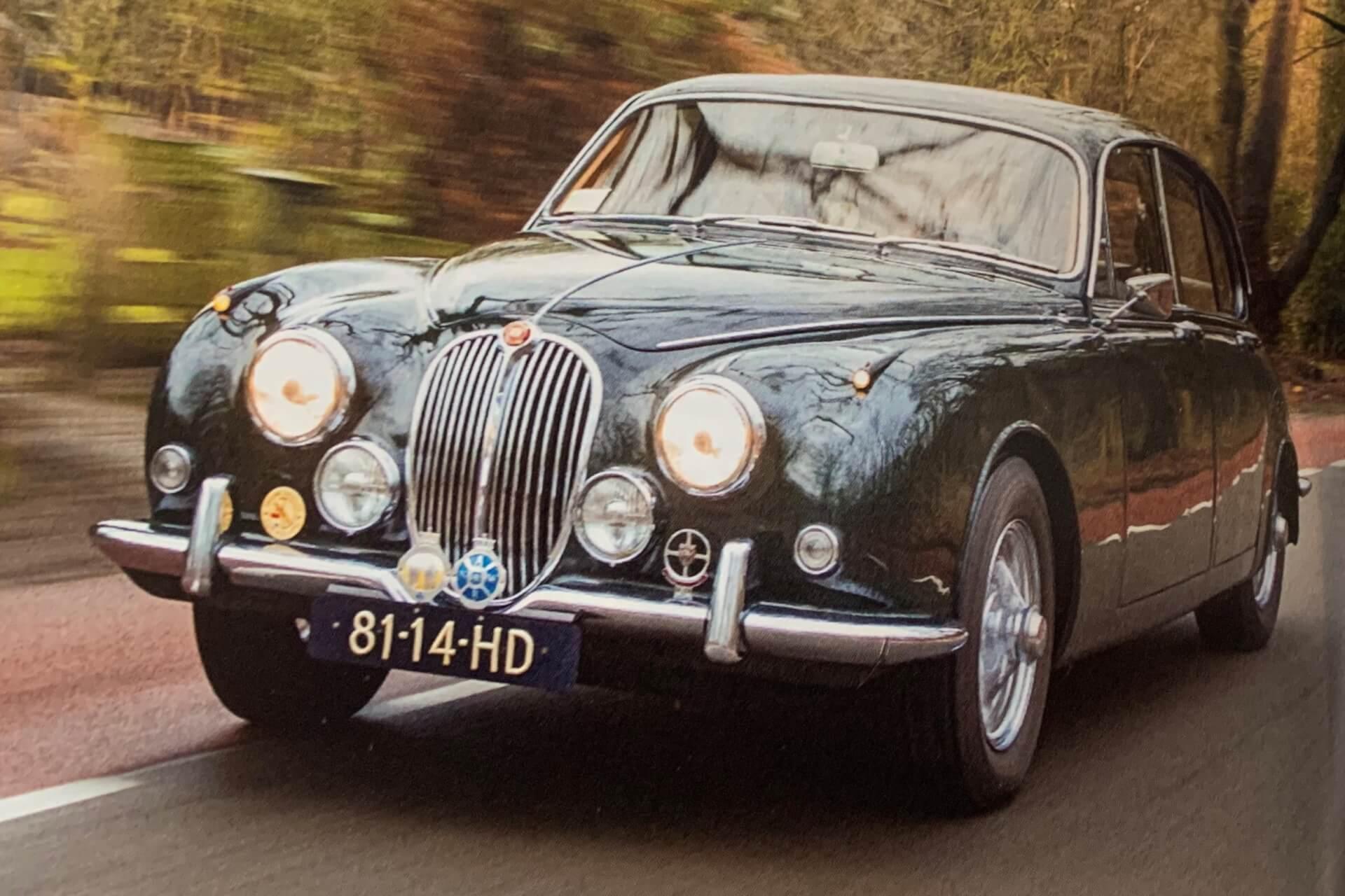 Real Art on Wheels | Jaguar Mark II 340