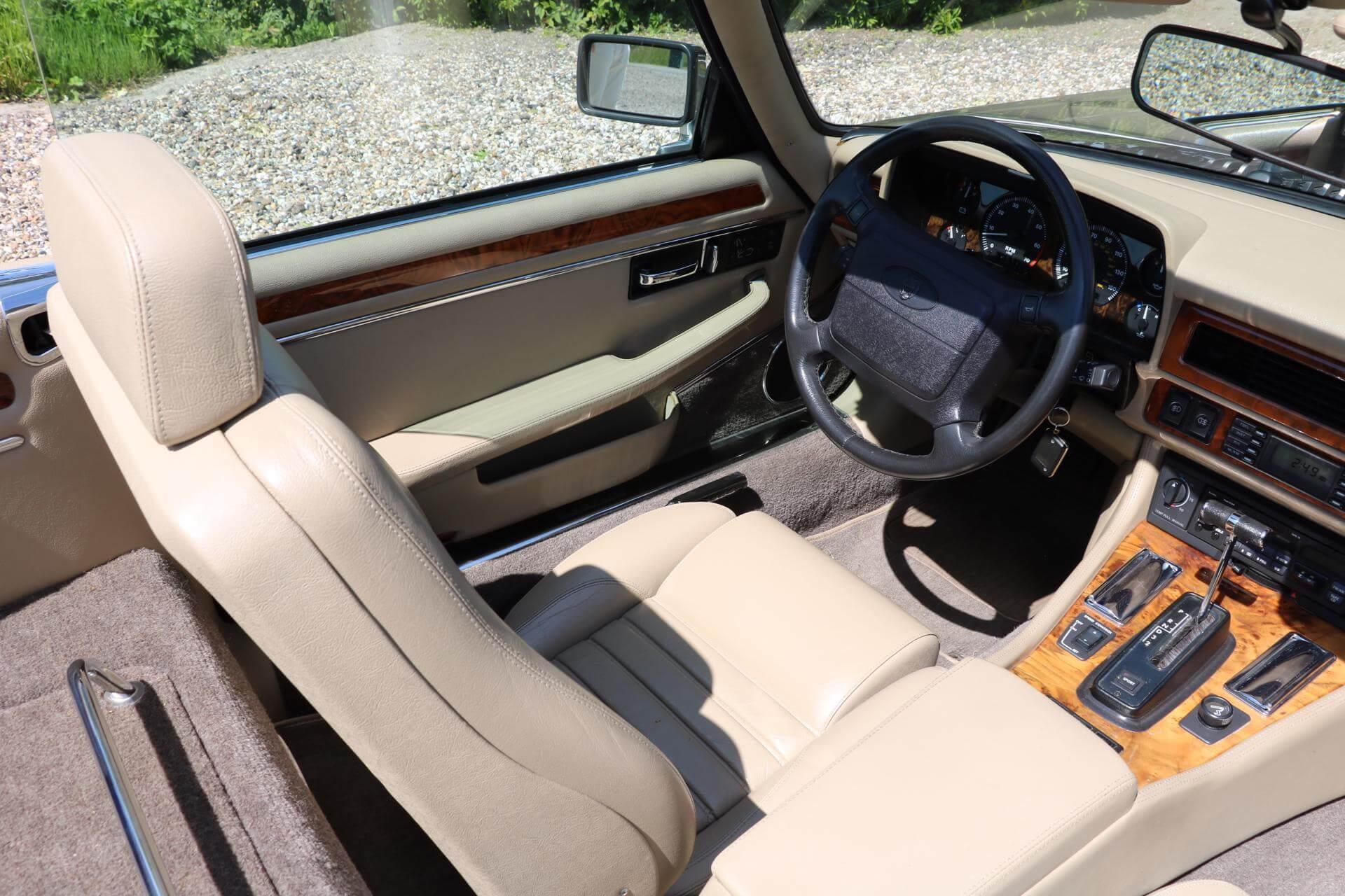 Real Art on Wheels   Jaguar XJS Convertible