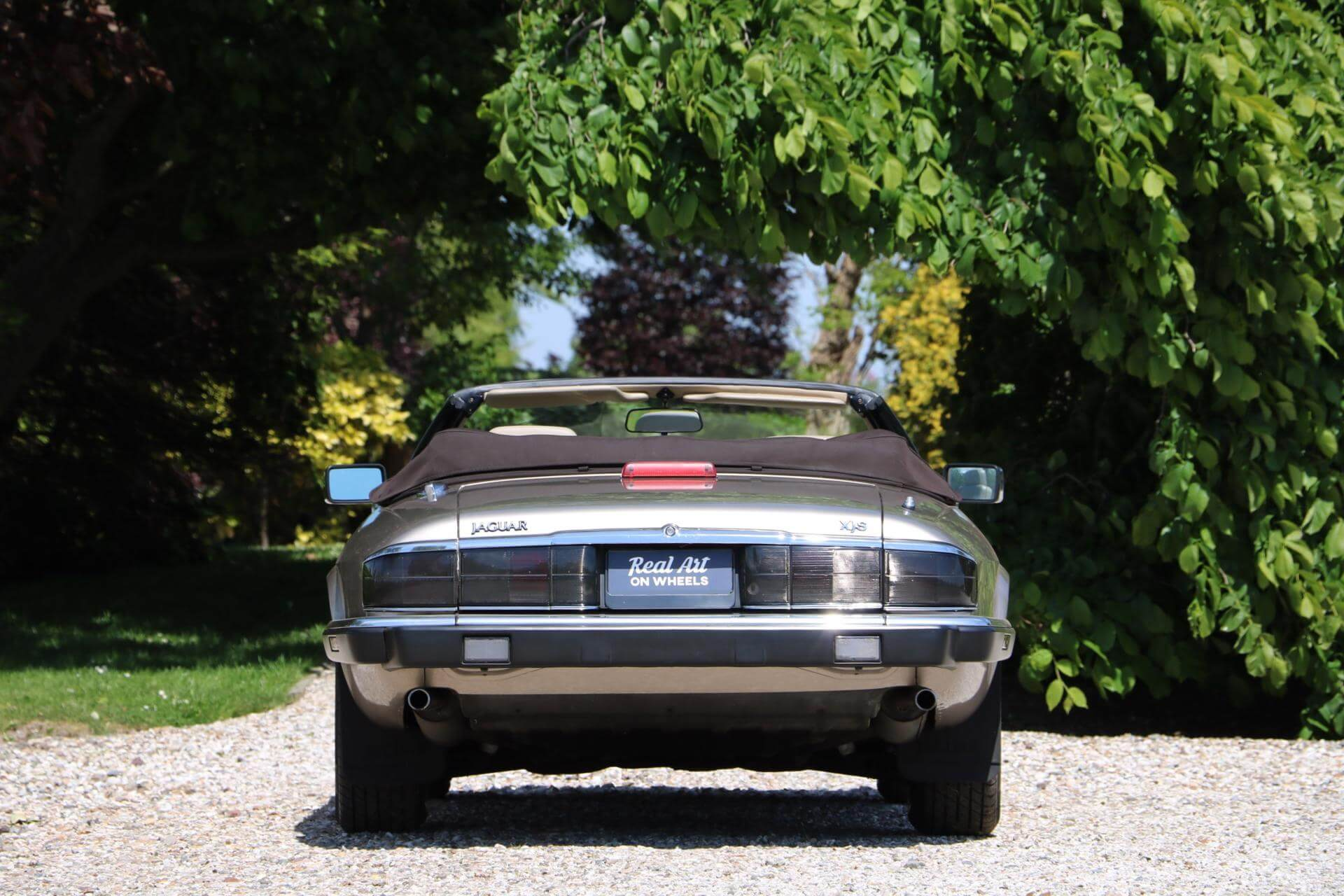 Real Art on Wheels | Jaguar XJS Convertible