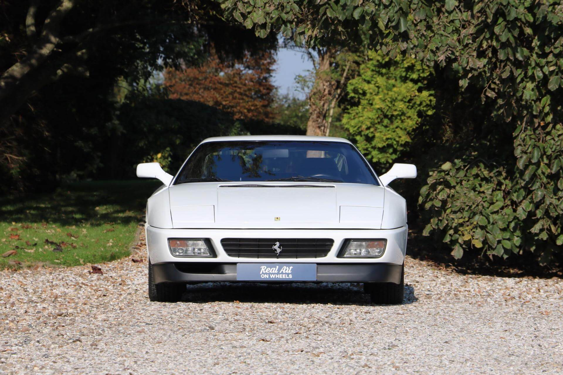 Real Art on Wheels | Ferrari 348 TB Bianco