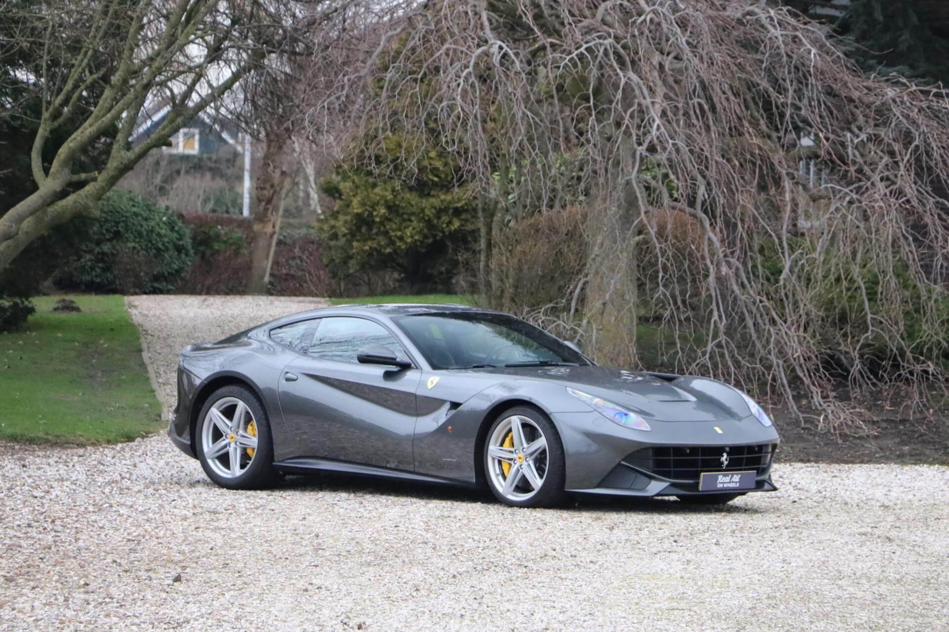 Real Art on Wheels | Ferrari F12