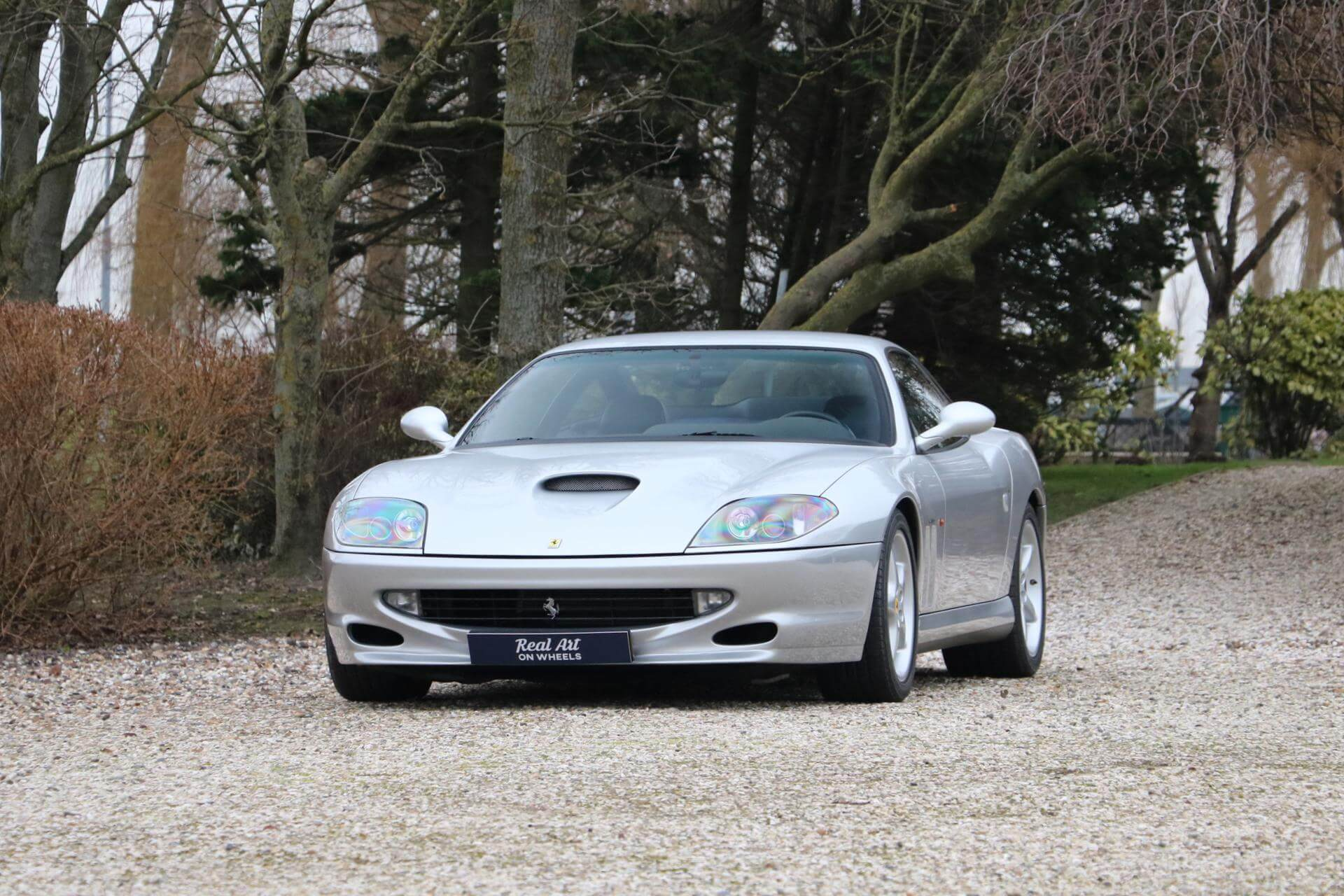 Real Art on Wheels | Ferrari 550 Maranello
