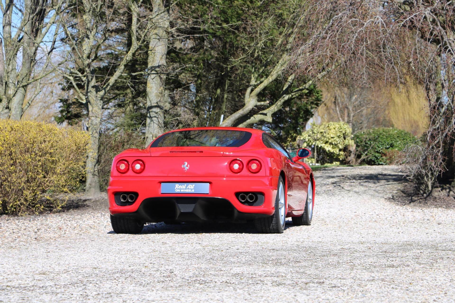 Real Art on Wheels | Ferrari 360 Modena