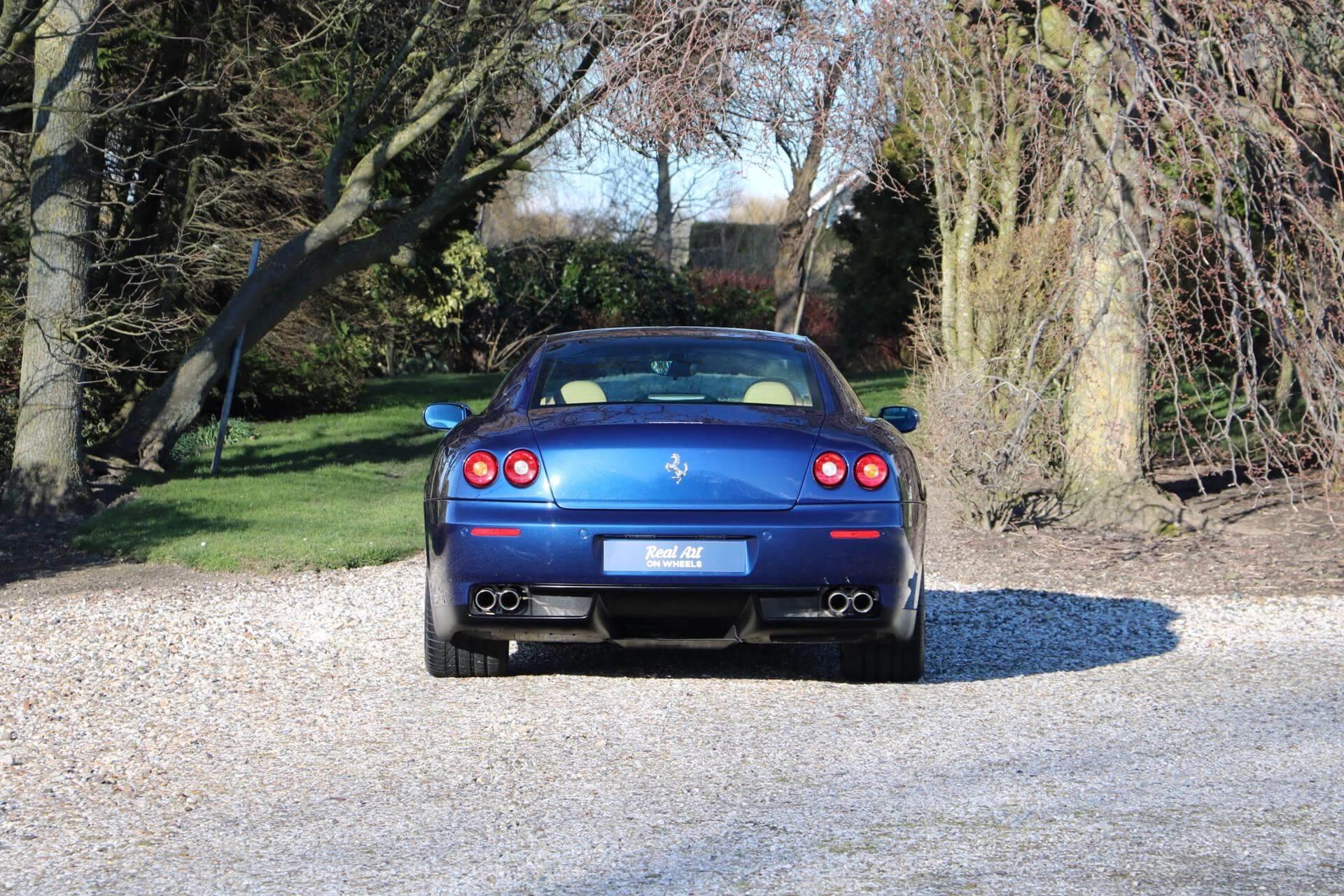 Real Art on Wheels | Ferrari 612 Manual
