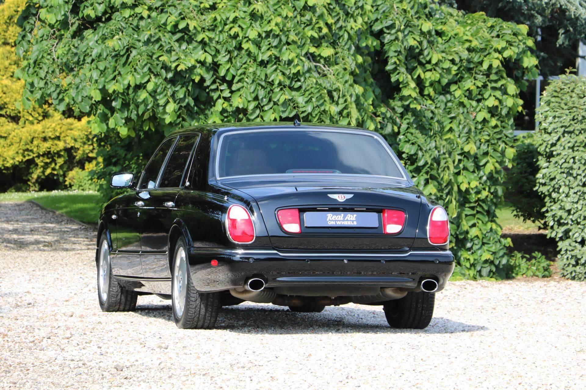 Real Art on Wheels   Bentley Arnage RL