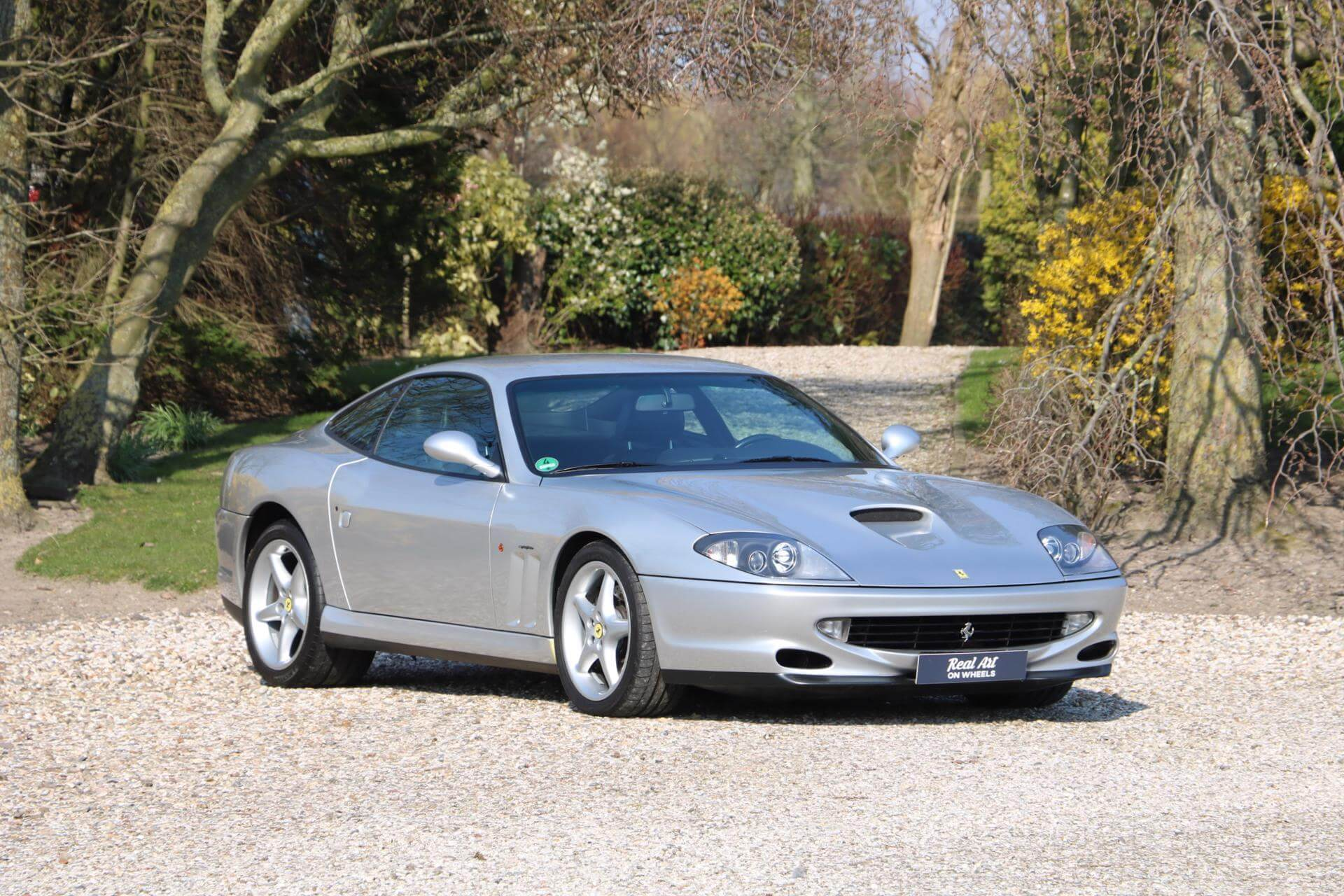 Real Art on Wheels | 1998 Ferrari 550 Maranello