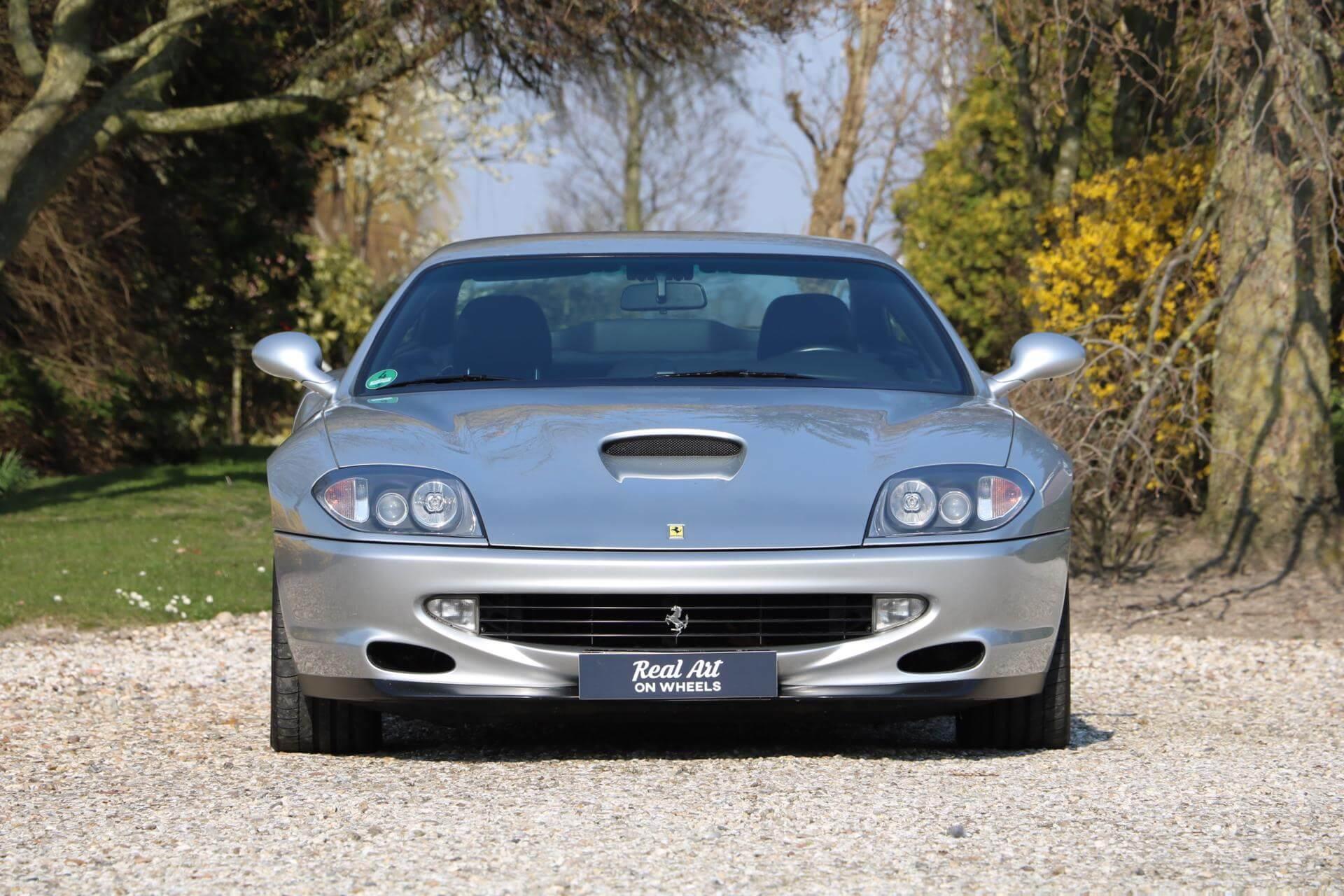 Real Art on Wheels   1998 Ferrari 550 Maranello