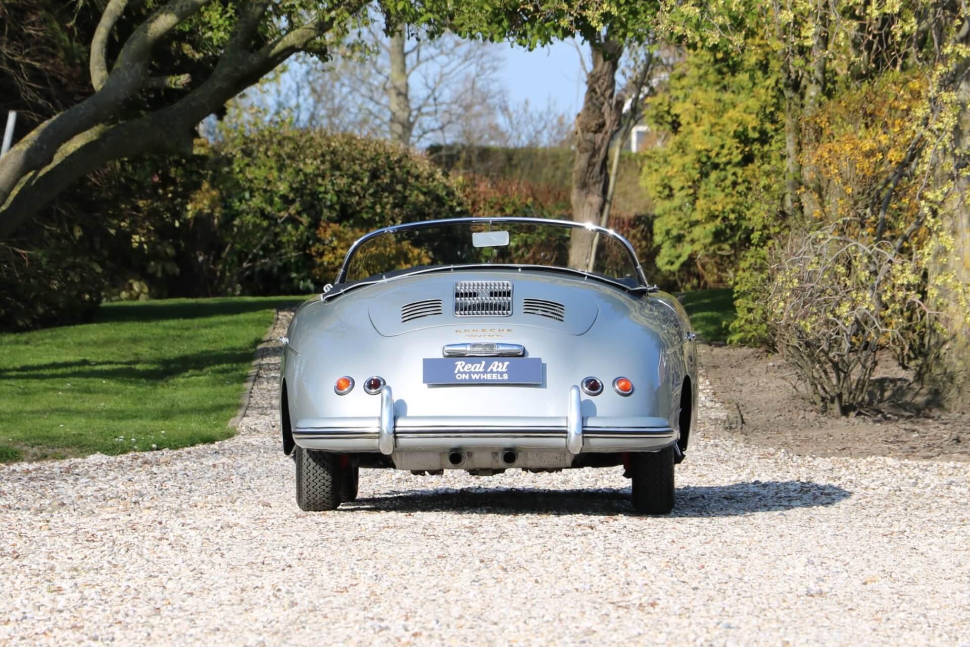 Real Art on Wheels | Porsche 356A Carrera Speedster